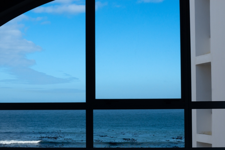 A view of the Atlantic Ocean from the Hotel