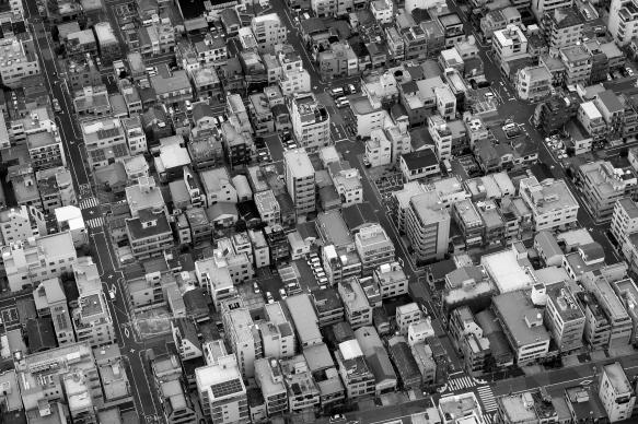 Skytree birds eye view