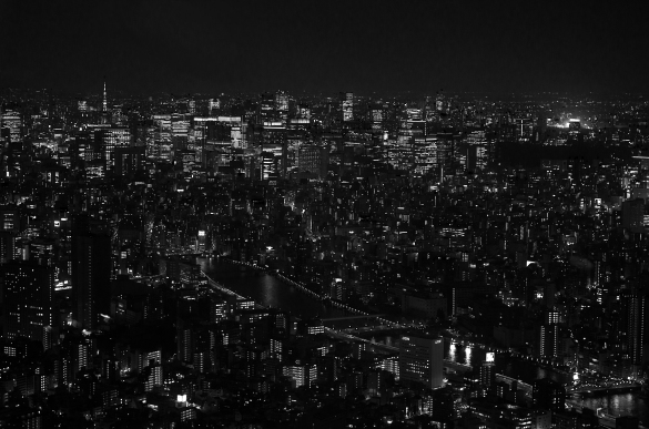 Tokyo from the Skytree